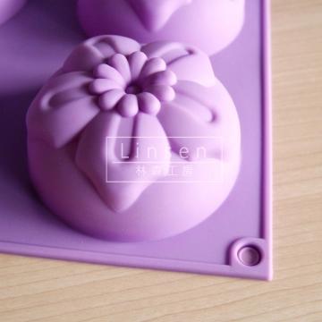 造型花朵矽膠模6孔2