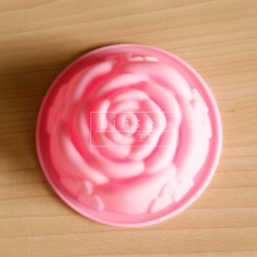 玫瑰 單孔矽膠膜(食