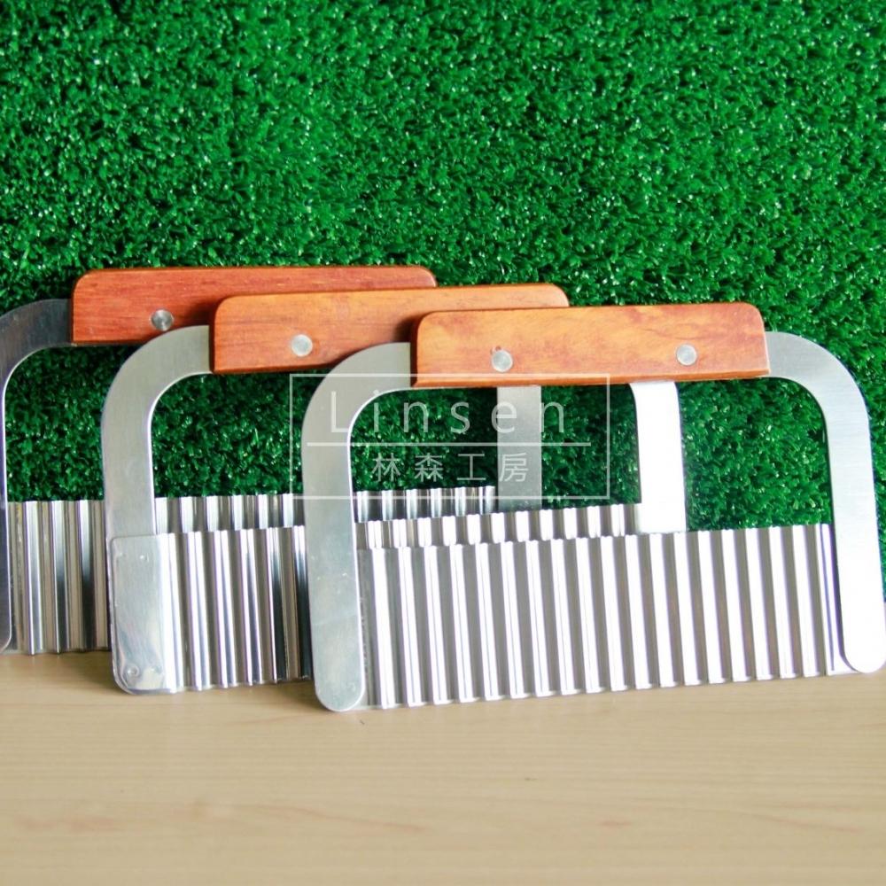 木柄切皂器(波浪型)