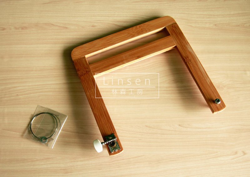 竹製線刀 手工皂使用